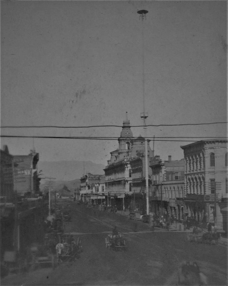 Main St from Temple Block unatt 2 1880s
