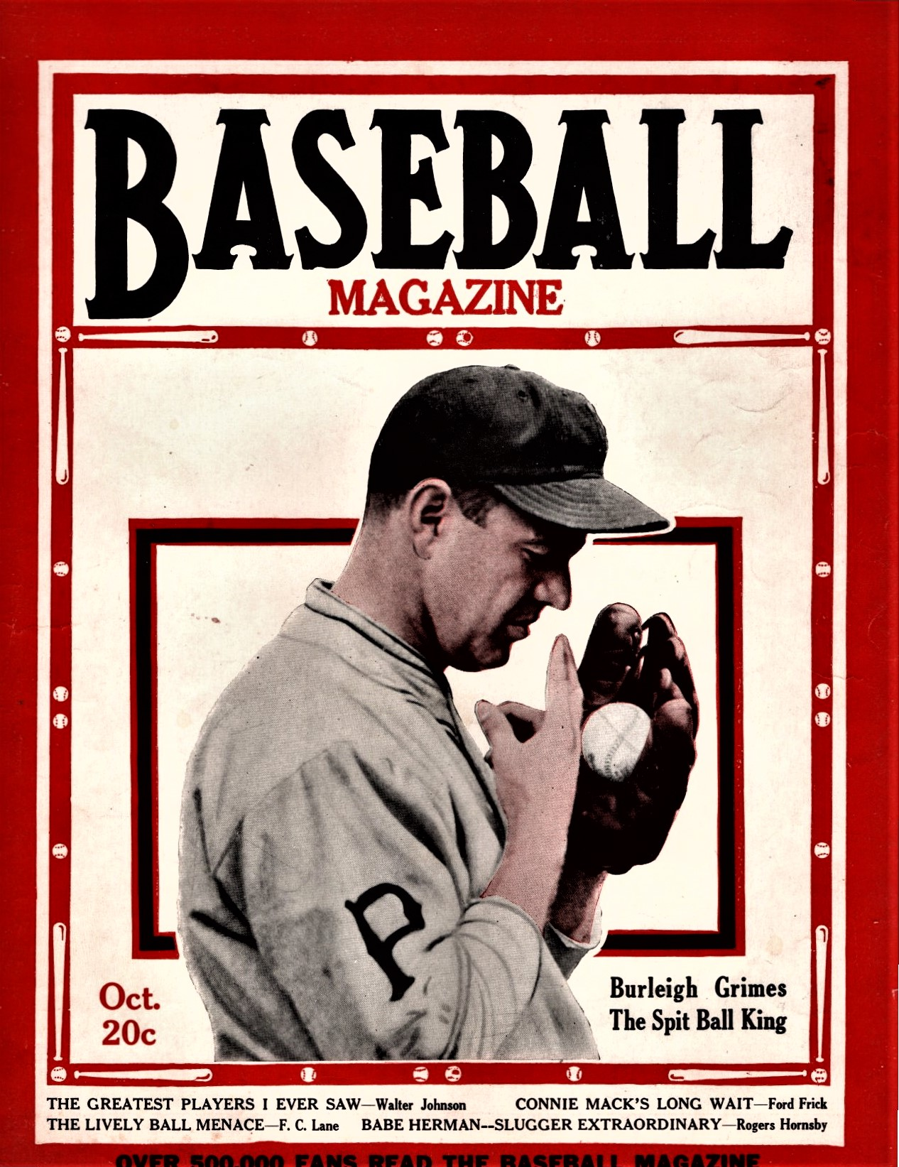 """a7c3ca37e91c8e Games People Play: """"Baseball Magazine,"""" October 1929. by Paul R. Spitzzeri.  Well, the World Series ..."""