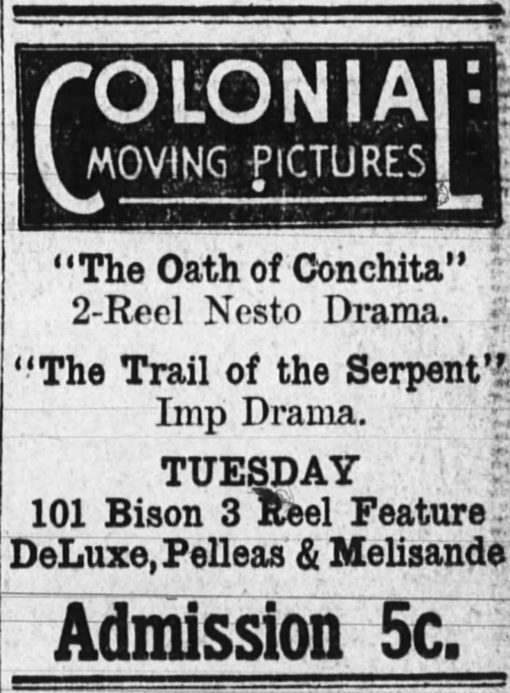 Oath of Conchita ad Huntington (IN)_Herald__Sep_1__1913_