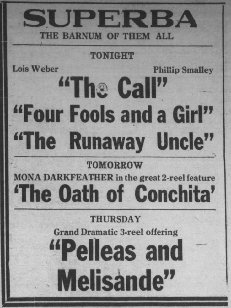 Oath of Conchita Elwood IN_Call_Leader_Sep_9__1913_