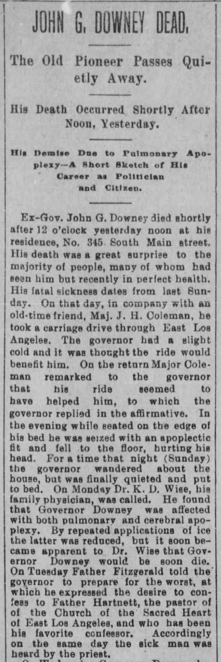 Downey obit Herald_Mar_2__1894_