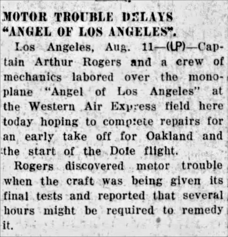 Motor trouble The_Hanford_Sentinel_Thu__Aug_11__1927_
