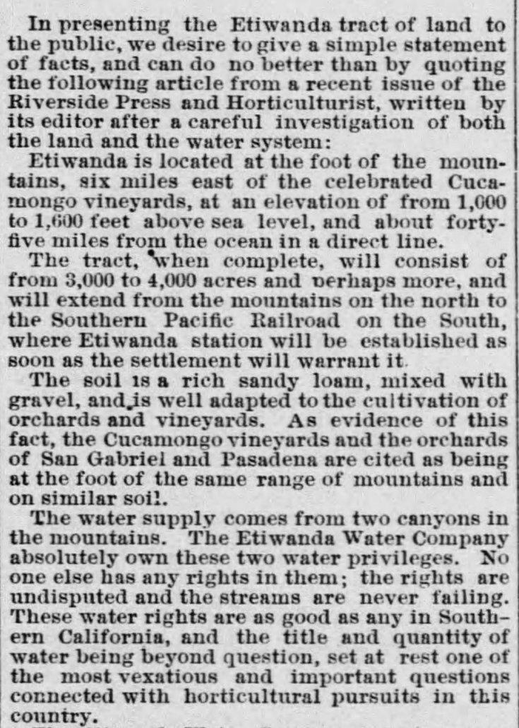 Etiwanda ad description The_Los_Angeles_Times_Sat__Jul_22__1882_