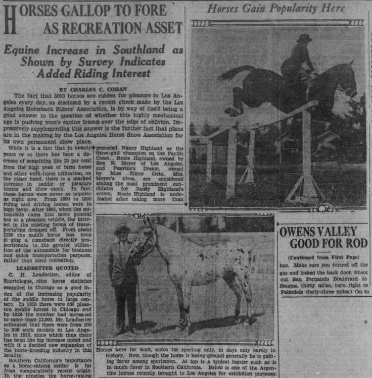 Horses Gallop to Fore The_Los_Angeles_Times_Sun__Sep_1__1929_