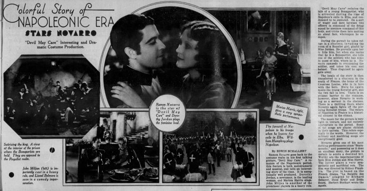 Devil May care review The_Los_Angeles_Times_Sun__Jan_26__1930_