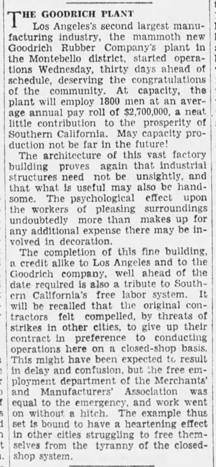 Goodrich plant editorial The_Los_Angeles_Times_Fri__May_4__1928_