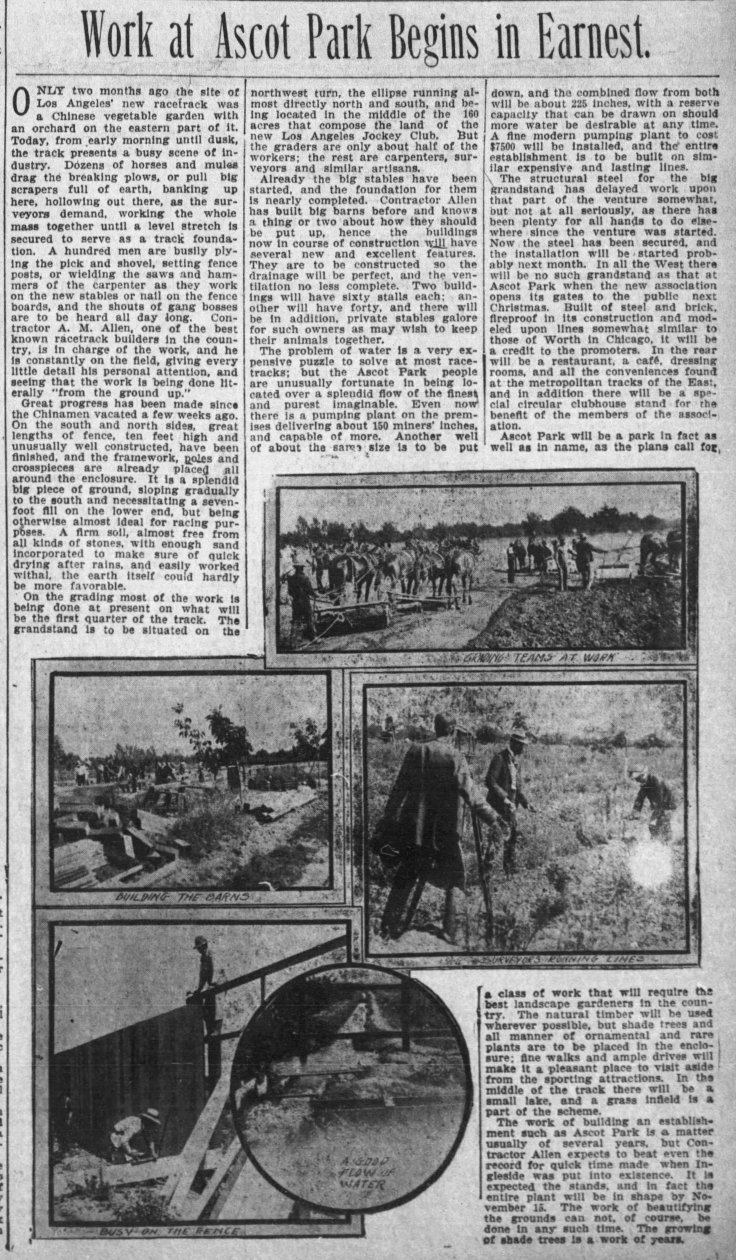 Ascot Work Underway The_Los_Angeles_Times_Fri__Jul_31__1903_