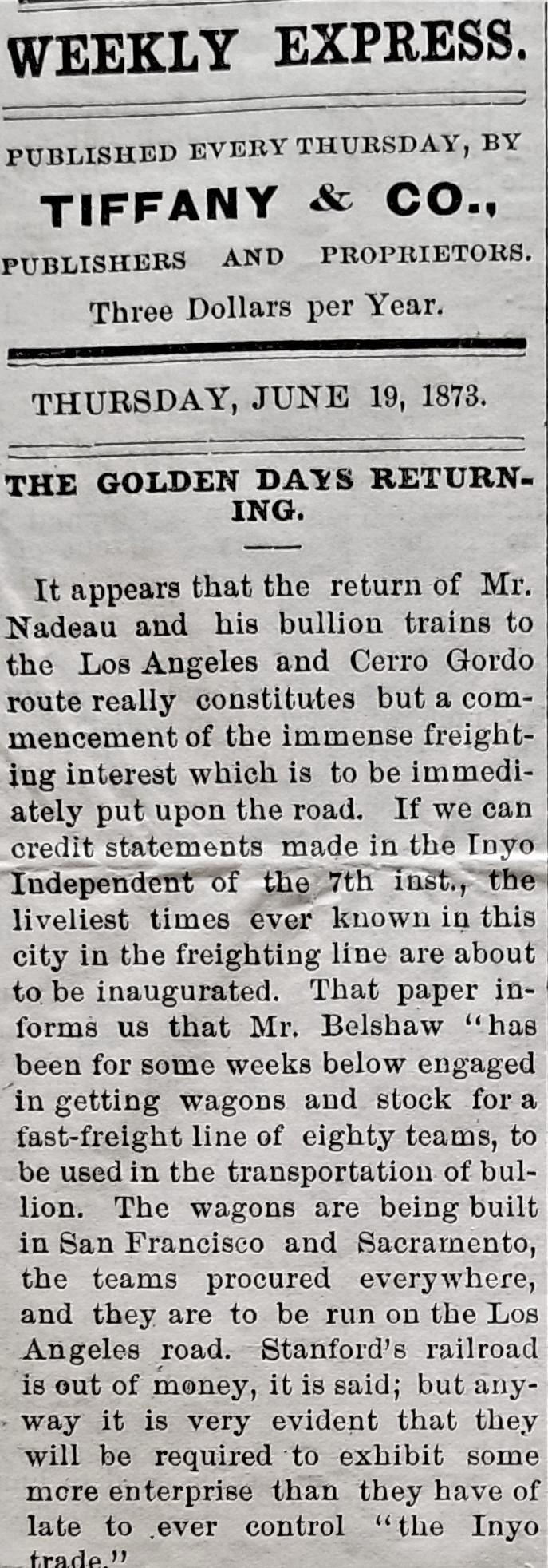 Express 18 June 1873
